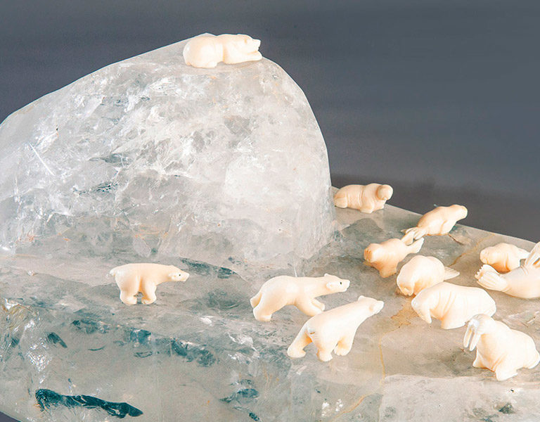 Противостояние на льдине